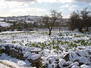 Modica sotto la neve