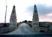 Modica  A ugghi ingresso Villa Aguglie e Villa Polara