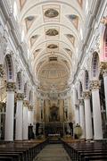 Modia Chiesa di S Pietro interno