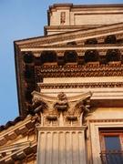 Modica alta - Chiesa di San Niccolò - Particolare facciata