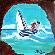 love in barca a vela