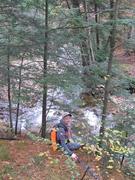 Overlooking Hickory Run Itself