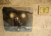 Аладжа М, двама монаси  рисунка