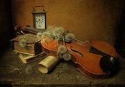 Цигулка с глухарчета!