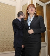 Лидия Шулева в костюм