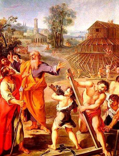 Потопа - Ной и хораата му  2