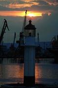 Варна - Фарът нощем