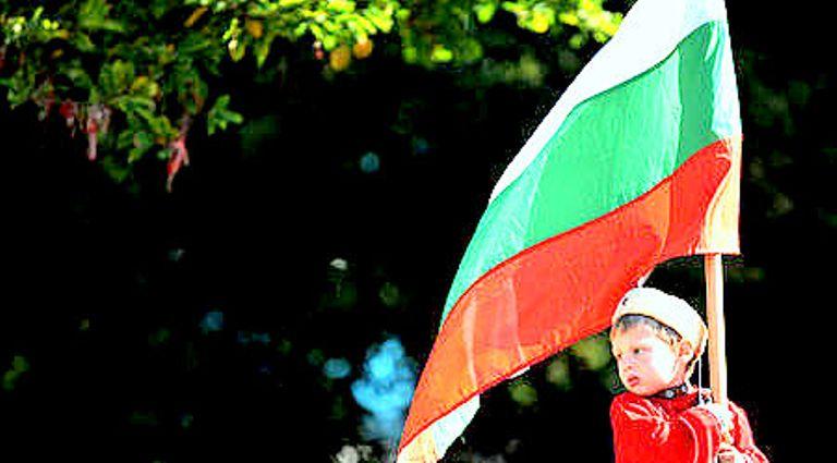 Знамето - дете с калпаче   2