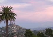 Mt Helix at Sunset