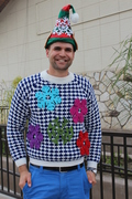 Ugly Sweaters At College Preparatory Middle School