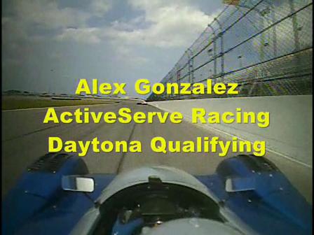 Alex Gonzalez @ Daytona Qualifying