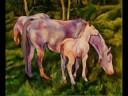 Horse Paintings by Karen Brenner