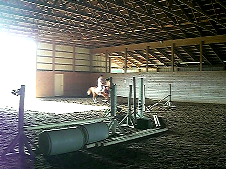Dutch and I Jumping the Small Stuff
