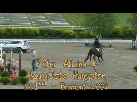 Peter Atkins & HJ Hampton_Bromont 2009