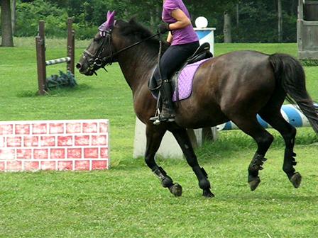 Mimi jumping
