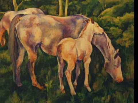 Retrospective: 10 Years of Horse Paintings by Karen Brenner