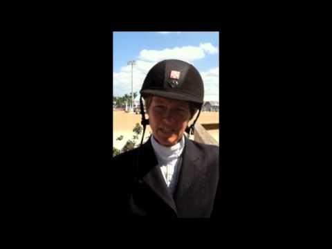 Beezie Madden talks about her ride in  WEF Challenge Cup Round 11