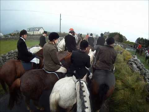Foxhunting in Galway, Ireland with Helmet Cam!