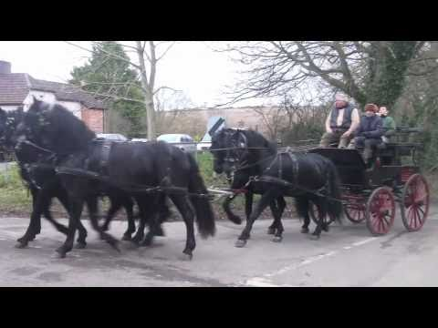 Superb!  Four-in-Hand on the Roads of England
