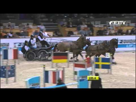 Boyd Exell : FEI World Cup Driving Final 2012 - Bordeaux News
