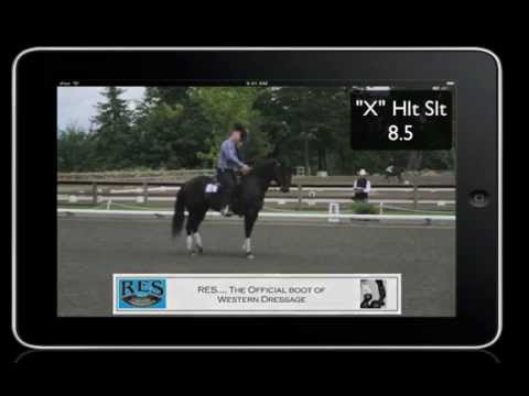 (80.926) 6/02/12 Western Dressage USEF Primary Test #2. What does looks like?