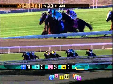 Mare Left in Starting Gate - 10 Lengths Behind - Wins Her First Race!