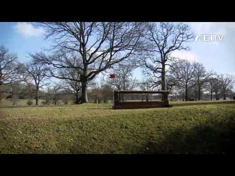 HSBC FEI Classics™ 2012/13 - Mitsubishi Motors Badminton Horse Trials - Course Walk