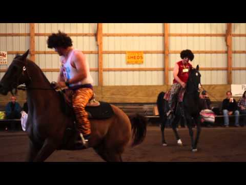 """Meet the """"Sexy"""" Redfoo Twins and Their Horses!"""