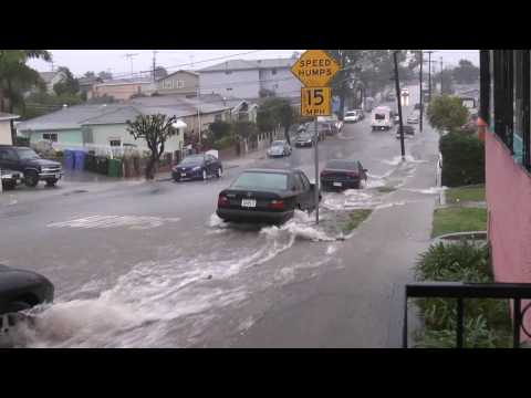 Southern CA Storm: Flash Flood, Day 3