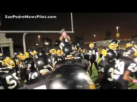 San Pedro High School Homecoming Football game against Gardena on October  21, 2011