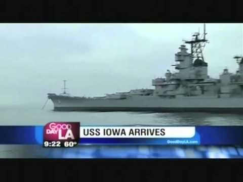 Councilman Joe Buscaino Talks to Fox 11's Hal Eisner about USS Iowa Live on Good Day LA
