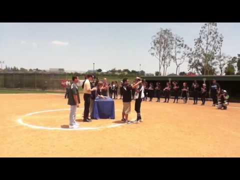 POLAHS Softball 2013 Receives Their Just Rewards