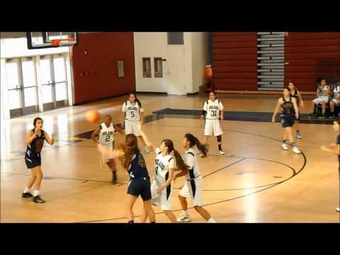 MSHS vs. POLAHS Girls Basketball (1-4-2014)