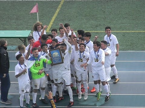 San Pedro High Boys Soccer 2018 Is CIF-LACS Division 4 Champions!
