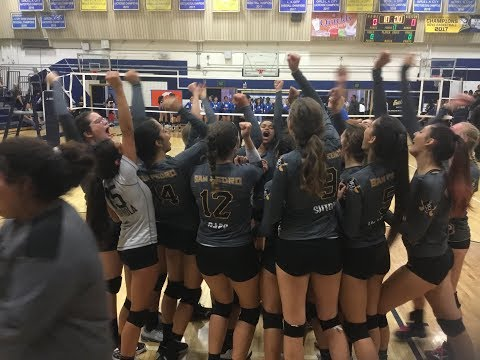 San Pedro High Girls Volleyball Is 2018 CIF-LACS Division 1 Champions!