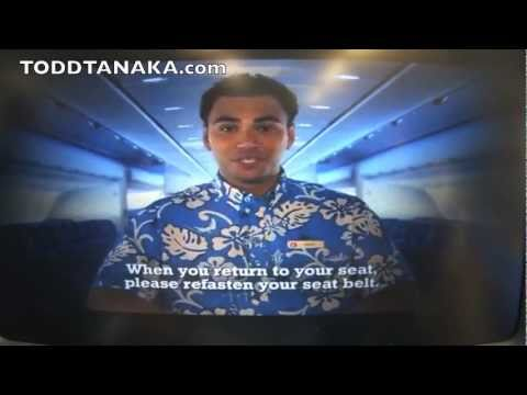 Kaipo Hawaiian Airlines Safety Video