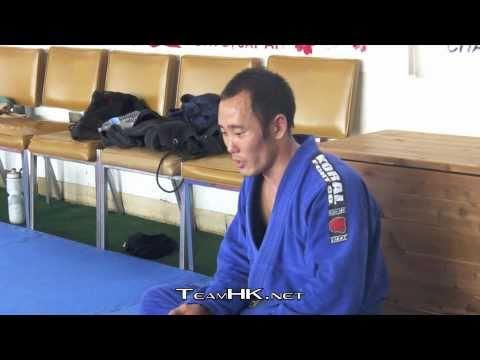 George Kotaka gives Advice to Relson Gracie Jiu-Jitsu Team HK