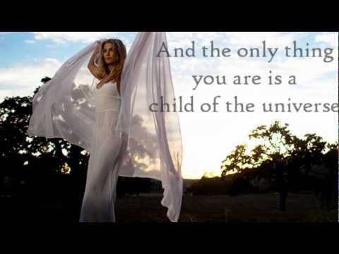 "Delta Goodrem - ""Child of the Universe"" Lyrics"