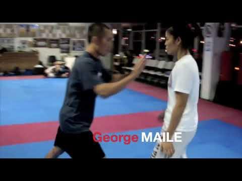 Relson Gracie Jiu-Jitsu Team HK Girl's Practice Demo