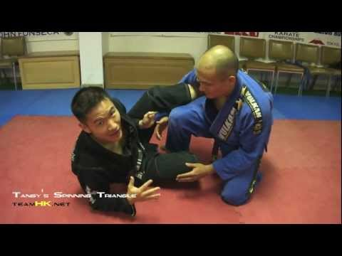 Relson Gracie Jiu-Jitsu Team HK: Spinning Triangle Choke Set Up