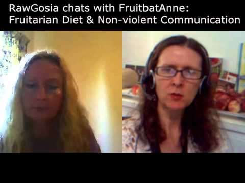 Raw Gosia chats with Fruitbat Anne: Fruitarian Diet & Non-Violent Communication