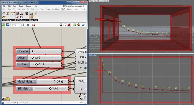 Parametric Daylighting Study with DIVA Grasshopper