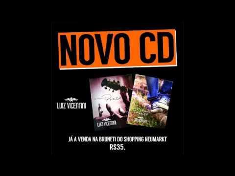 """""""OS PASSOS DO POETA"""" - Encarte CD Divulgação - Luiz Vicentini"""