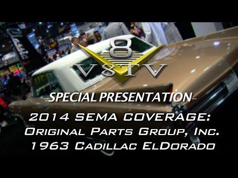 OPGI 1963 Cadillac Eldorado at 2014 SEMA Show Video V8TV