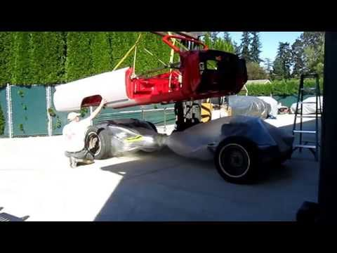1964 cadillac body placement on Neil Gray Convertible