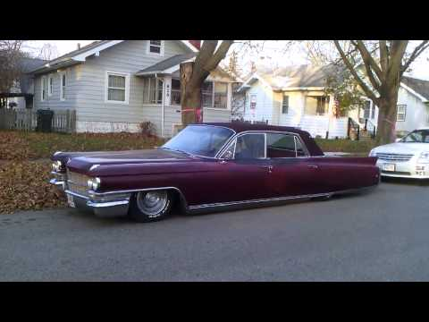 63 cadillac fleetwood on air ride