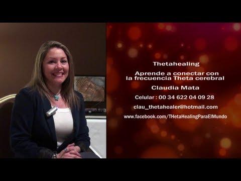Aprende a conectar con la frecuencia Theta cerebral - Thetahealing - Claudia Mata