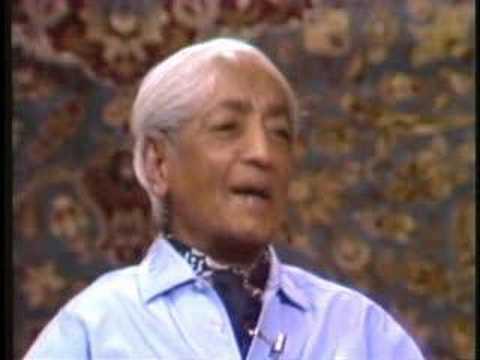 Krishnamurti with Chogyam Trungpa Rinpoche, part 1 of 5