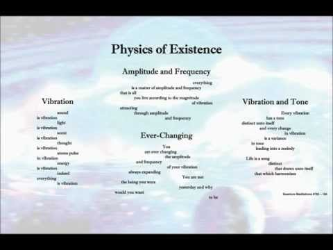 Quantum Meditations 5 ~ Physics of Existence
