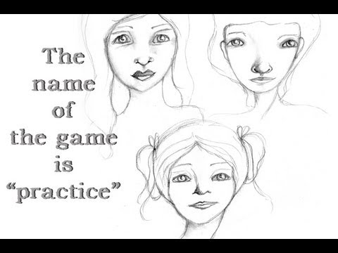 The name of the game is Practice!